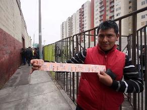 Inician proceso sancionador a Tu Entrada por partido Perú-Uruguay