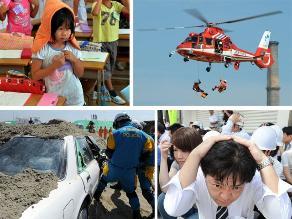 Como si fuera real: Japón realizó simulacro de desastres