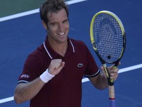 Richard Gasquet derrotó a Ferrer y es semifinalista en el US Open