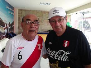 Óscar Avilés animó a la selección peruana previo al duelo con Uruguay