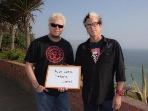 The Offspring en Lima: Hoy tocaremos una canción por primera vez