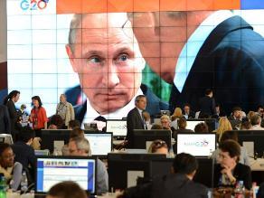Vladímir Putin propone al G20 abordar la crisis en Siria