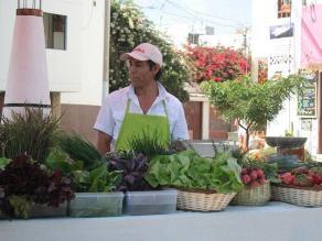 Productos orgánicos de Trujillo presentes en Mistura