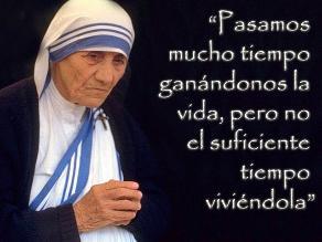 Las Diez Frases De La Madre Teresa De Calcuta A 16 Años De