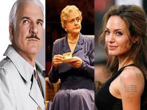 Steve Martin, Angela Lansbury y Jolie recibirán Óscar honorífico