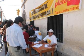 Ayacucho: Recolecta firmas a favor de construcción de supermercado