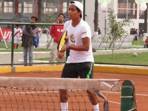 Una pena: Brian Panta fue eliminado del US Open Junior de New York
