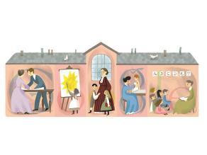 Google dedica doodle a Jane Addams