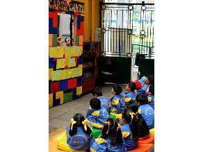 Títeres para niños los jueves de setiembre en la Caslit