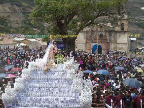 Apurímac: Con cánticos se desarrollan festejos a Virgen de Cocharcas