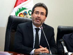 Jiménez asegura autonomía del Congreso en investigación por caso BTR