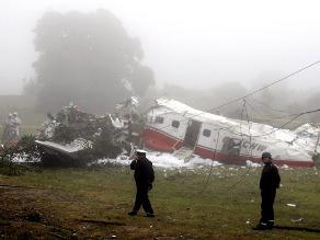 Chile: Dos muertos al caer avión en Viña del Mar