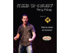 Percy Mckay presenta la segunda edición de Stand up comedy