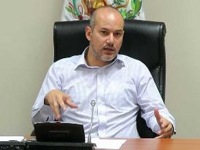Tejada: PJ pidió al Congreso investigar injerencia política en caso BTR