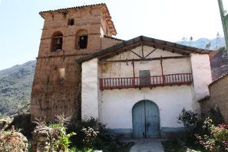 Cusco: Inician restauración de templo San Cosme en Lares