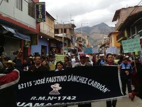 La Libertad: 800 alumnos se quedarían sin local escolar en Huamachuco