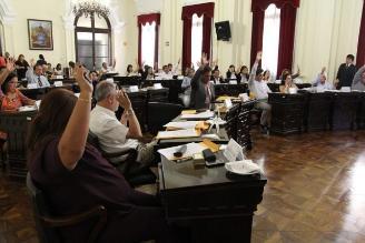 Caótica sesión se registró en Concejo de Municipalidad de Lima