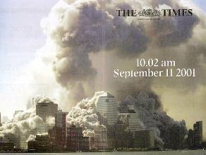 Así informaron los diarios un día después del atentado del 11 de septiembre