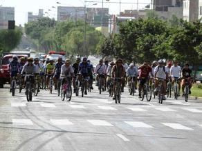 Promueven uso de bicicleta como transporte sostenible en Trujillo
