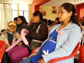 Junín: 40% de mujeres son madres por primera vez antes de los 20 años
