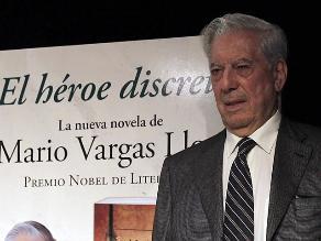 ´El héroe discreto´: nuevo libro de Vargas Llosa ya está a la venta