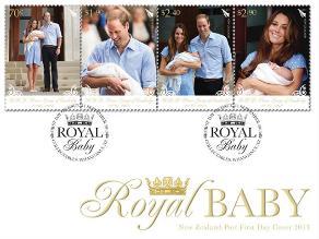 Estampas conmemoran nacimiento del Bebé Real de Inglaterra
