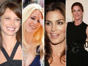 Antes y después: las supermodelos que triunfaron en los años 90