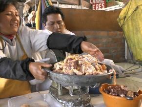Huancayo: Incautan más de 25 kilos de carne podrida