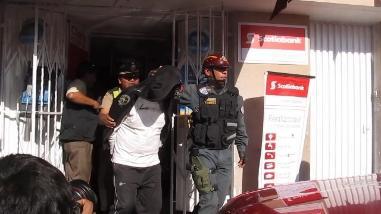 Arequipa: Intervienen a menor por robo con arma de fuego