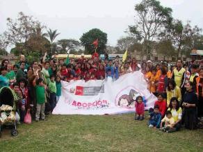 Día de la Familia Peruana: Encuentro de familias adoptivas