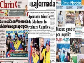 Venezuela: Diarios regionales dejan de circular por falta de papel