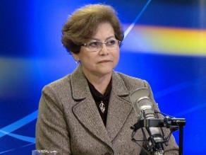 Exfiscal Gladys Echaíz evalúa denunciar al Estado ante la CIDH