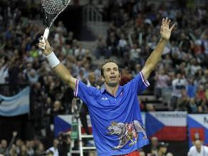 República Checa venció a Argentina y avanzó a la final de la Copa Davis