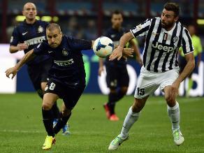 Serie A: Inter de Milán empató 1-1 con Juventus en el clásico italiano