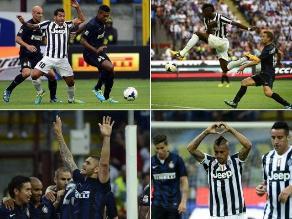Revive el empate en el clásico italiano entre Juventus e Inter de Milán