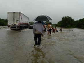 En alerta roja dos estados mexicanos por tormenta Manuel