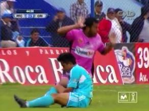 Joazhiño Arroé sufrió fractura de tobillo en el Pacífico vs. Cristal