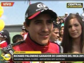 Ronmel Palomino felicitó a Richard y señaló que su título costó mucho