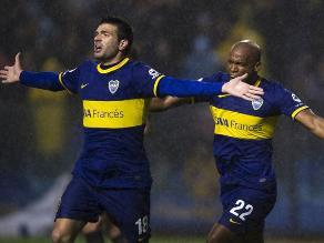 Boca Juniors venció 2-0 a Racing Club por el fútbol argentino