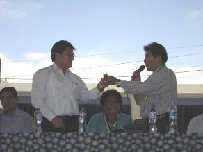 Piura: Autoridades acuerdan uso del dinero del Fondo Social Bayóvar