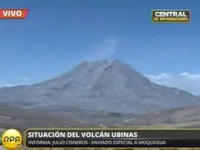 Arequipa: ANA confirma que cenizas del Ubinas no afectaron agua de ríos