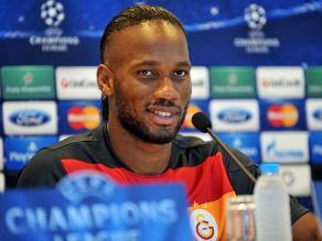 Didier Drogba quiere ganarle otra vez al Real Madrid en la Champions League