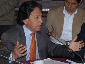 Congresista Verónika Mendoza le sugiere a Alejandro Toledo