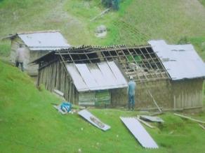 Amazonas: Fuertes vientos destruyen techo de colegio