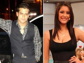 Christian Domínguez y Karla Tarazona pasean abrazados