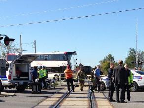 Canadá: Al menos cinco muertos tras colisión de autobús con tren