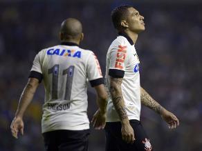 Brasileirao: Corinthians de Paolo Guerrero cayó 2-0 ante Ponte Preta