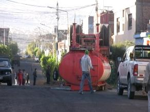 Arequipa: Derrame de sustancia tóxica causó alarma en Cayma
