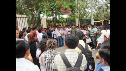 Piura: Profesores acatan paro de 24 horas
