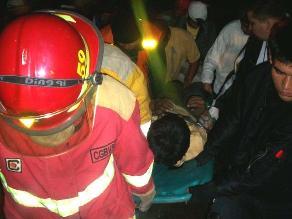 Cajamarca: Dos muertos y tres heridos deja choque frontal